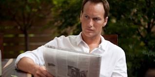 Patrick Wilson reading paper